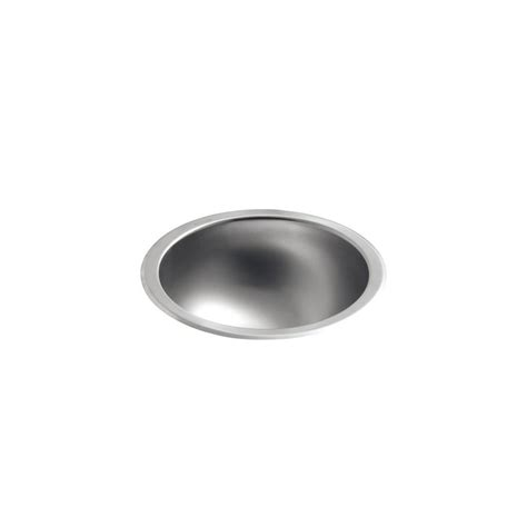 stainless steel undermount bathroom sink kohler bolero round drop in or undermount stainless steal