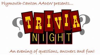 Trivia Night Aauw Mi Canton Plymouth