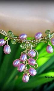 Pink Pearl Bud Necklace   Pink pearl, Pearls, Necklace etsy