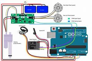 Rcservo - Arduino Rc Kids Ride-on Car  Wiring Help Needed