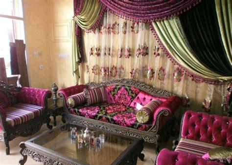 canapé arabe salon deco salon marocain