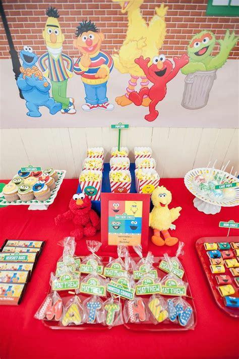 1st birthday kara 39 s party ideas kara 39 s party ideas sesame themed 1st birthday party