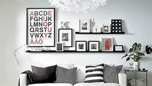 Etagere Pour Cadre Photo : casa c t d co l 39 art d 39 accrocher cadres et tableaux ~ Premium-room.com Idées de Décoration