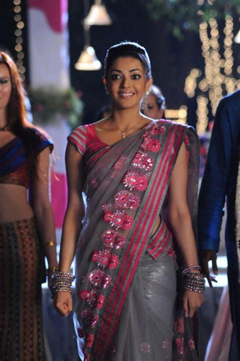 hd wallpapers actress kajal agarwal  saree