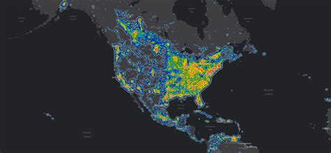 light pollution map earth day reflection the impact of pollution on sleep