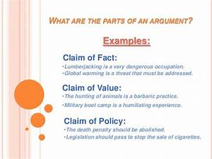 argument of fact examples