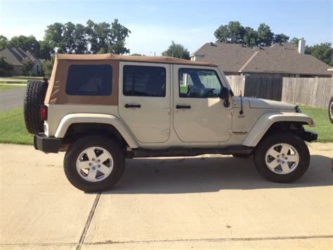 jeep soft top tan 2018 jeep wrangler jl hits dealer system 1st official