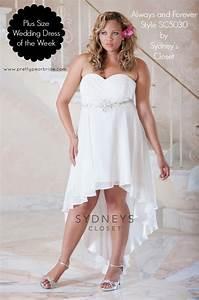 plus size wedding dress of the week chiffon high low With plus size high low wedding dresses