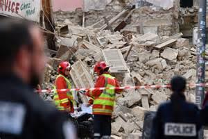 Immeubles Effondrés à Marseille  Un 8e Corps, Celui D'une