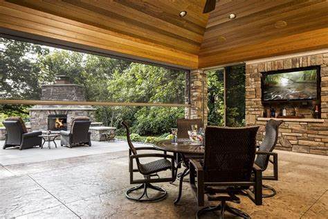 27+ Stunning Outdoor Kitchen Screened In Porch