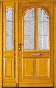 Porte D Entrée Tiercée : porte d 39 entree a vitrage en bois chambord tierce ~ Carolinahurricanesstore.com Idées de Décoration