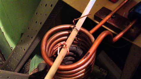 Индукционный нагреватель. Огонь вода работающие люди но не пожар!