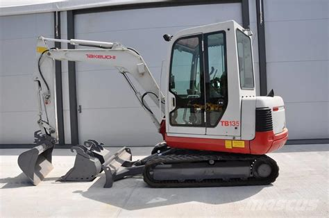 takeuchi tb year  production   takeuchi tb mini excavators