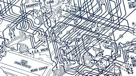 Honda Accord Type R Wiring Diagram by 1985 Honda Cvcc Vacuum Hose Routing Diagram Car