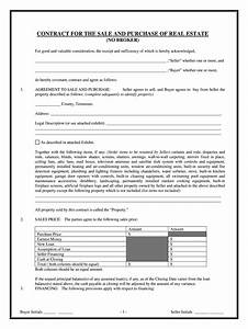 Tennessee Residential Sales Contract