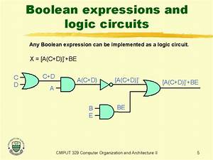 Boolean Expressions And Logic Circuits
