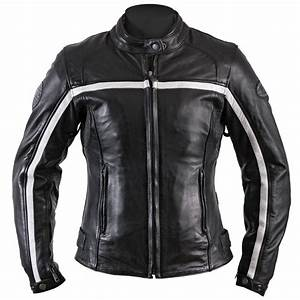Blouson Moto Vintage Femme : blouson moto femme helstons daytona cuir rag noir blanc vintage ~ Melissatoandfro.com Idées de Décoration