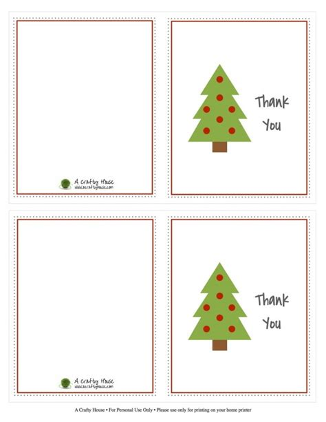 kids christmas thank you note printables design dazzle