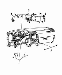 2014 Dodge Challenger Wiring Instrument Panel
