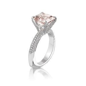 colored diamond engagement rings   rise naturally