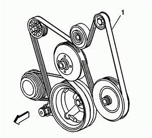 2004 Cadillac Escalade Esv V8 6 0l Serpentine Belt Diagram