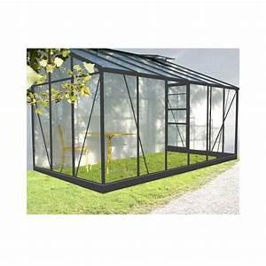 Serre Acier Verre : profile alu pour serre verre perfect serre de jardin ~ Premium-room.com Idées de Décoration