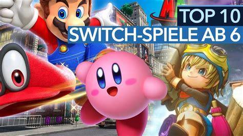 spiele für kinder ab 12 top 10 switch spiele ab 6 jahren die besten nintendo switch spiele f 252 r kinder