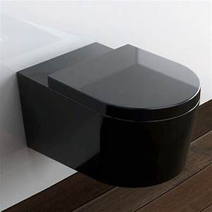 Pack Bâti Wc Suspendu Solido : pack wc suspendu orba noir et bati support geberit ~ Edinachiropracticcenter.com Idées de Décoration