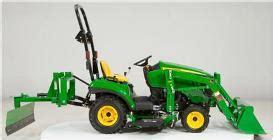 sub compact utility tractors 1025r deere us