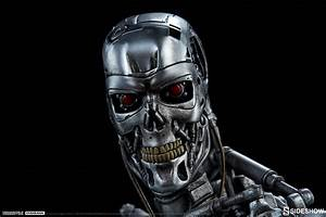 Terminator Terminator T-800 Endoskeleton Maquette by ...