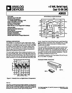Ad8522 Pdf Analog Devices  U2013 Diagramasde Com  U2013 Diagramas