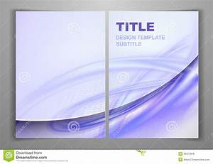 Business Front And Back Flyer Template Vector Illustration