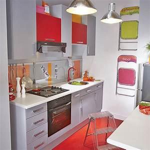 Petite cuisine 20 modeles de kitchenettes ideales pour for Modeles de petites cuisines modernes