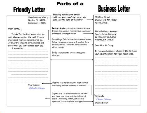 5+ Friendly Business Letter Format