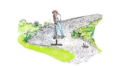 viali in ghiaia vialetto economico in ghiaia per il giardino