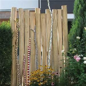 robinienholz stamme pfahle spielgerate aus robinienholz With französischer balkon mit kindergarten spielhaus garten