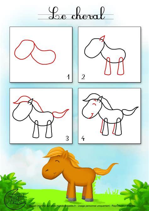 apprendre les bases de la cuisine apprendre dessiner cheval jpg 1400 1980 animaux de la ferme comment et chevaux