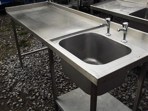 used stainless steel table with sink for sale used stainless steel tables used stainless steel work