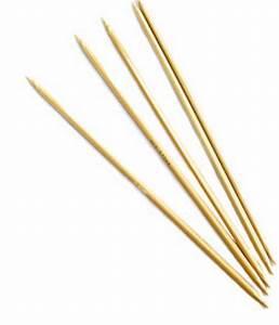 "8"" Double-point Bamboo Knitting Needles, Size 10.5 ..."