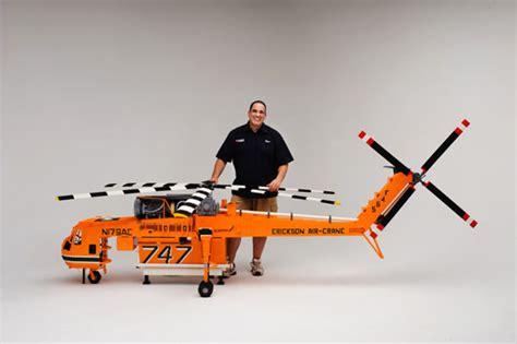 Erickson Air-Crane in LEGO - Neatorama