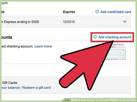 sur la table gift card balance 3 ways to buy things on amazon without a credit card wikihow