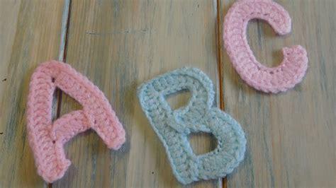 crochet   crochet letters   p   yarn scrap friday youtube