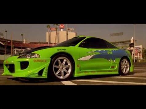 Green Mitsubishi by Paul Walker Green Mitsubishi Eclipse