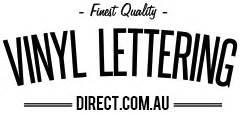 Vinyl lettering direct for Vinyl lettering direct