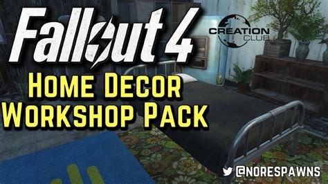 Fallout 4 Home Decor Workshop : Home Decor Workshop Pack