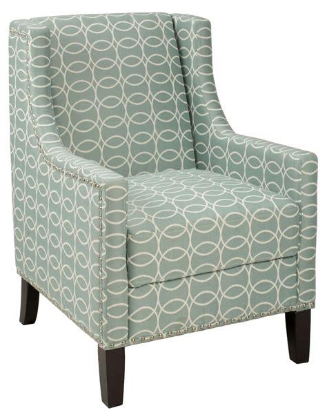 josie light blue and grey accent chair josie ch spa jofran