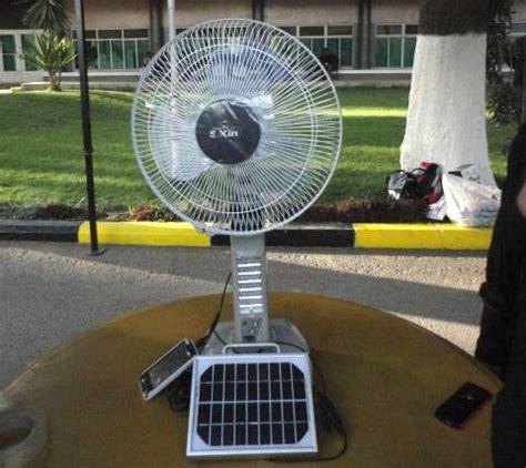 solar fan for house solar powered fan creative generation company green prophet