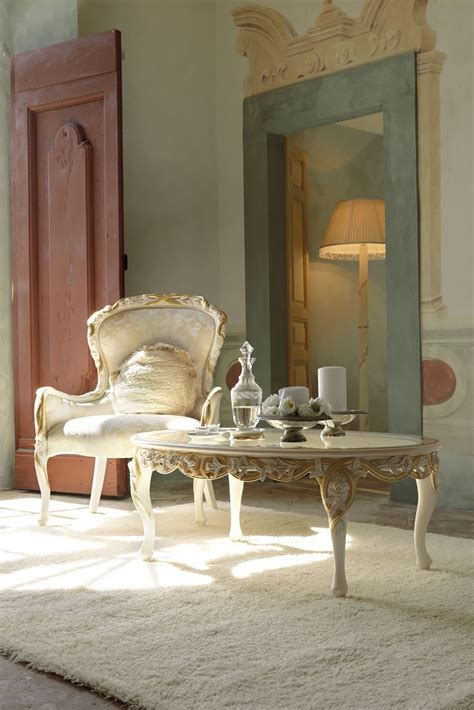 If you've always thought you need a stylist to show you how it's done, you will be happy to know that that's simply not true. Italian Rose And Ribbon Oval Coffee Table - Juliettes Interiors   Oval coffee tables, Elegant ...