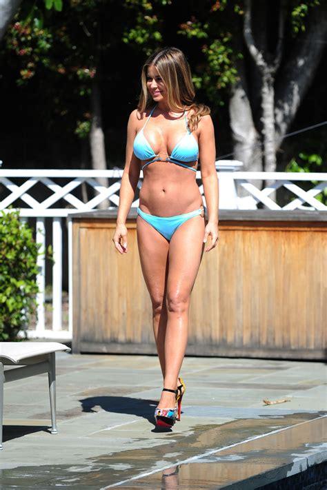 carmen electra  bikini   photoshoot  los angeles