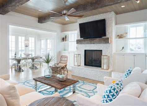 New Beach Vacation Home with Coastal Interiors   Home